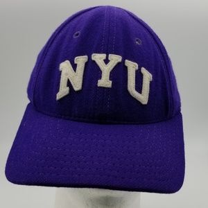Vintage NYU New York University Adjustable Cap Hat